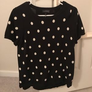 Polka dot sweater from the limited